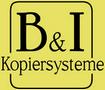 B und I Kopiersysteme Logo