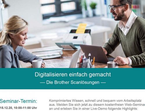 Digitalisieren einfach gemacht mit Brother Scanlösungen